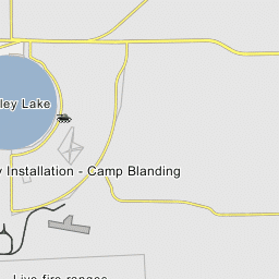 Camp Blanding Florida Map.Camp Blanding Joint Training Center