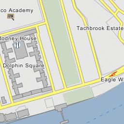 United States Embassy London - Us-embassy-london-map