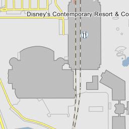 South Garden Wing Disney S Contemporary Resort