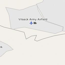 Map Of Vilseck Germany Army Base.Vilseck Army Airfield