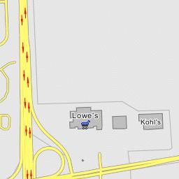 I 75 Michigan Map.Interstate 75 Michigan Exit 32 West Road Woodhaven Michigan